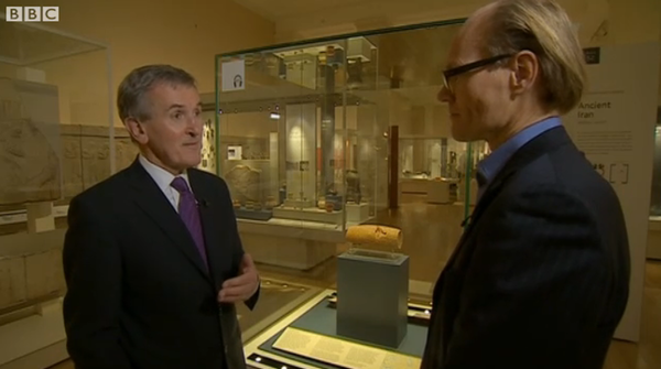 BBC News on the Cyrus Cylinder US Tour