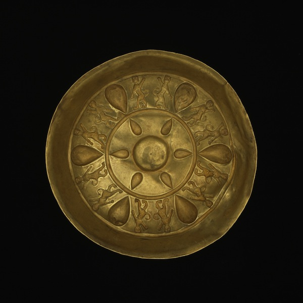 Gold bowl, 5th – 4th century BC, Achaemenid