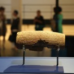 The Cyrus Cylinder. Photo: Reza Ganji / IHF America